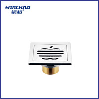 7811 Stable stainless steel floor drain brass accessory bathroom sanitary ware