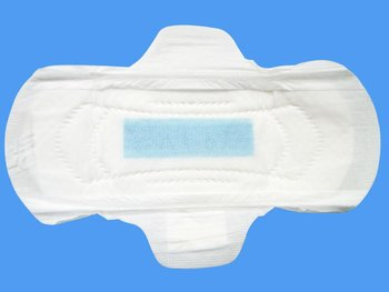 Female Maternity blue core sanitary pads magic Napkins