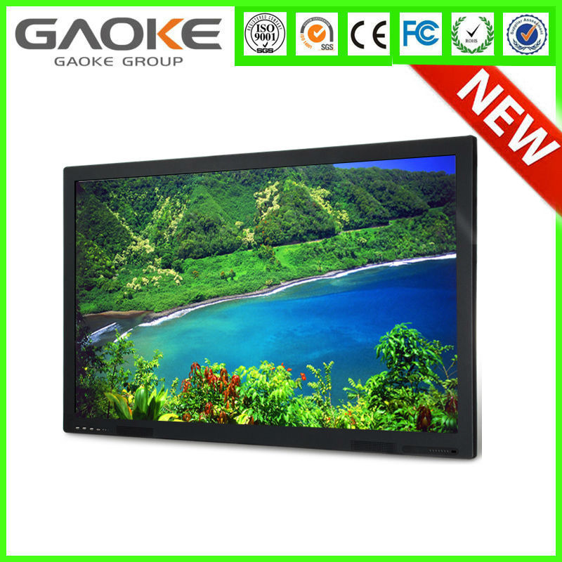 CE FCC ROHS TUV Mobile Stand Interactive Display Monitor 55 Inch LCD LED Panel Smart Board Multi Touch Screen Smart TV