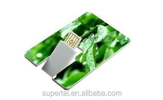 China supplier excellent quality usb flash drive with both side color priting