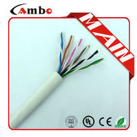 Wholesale China 24AWG UTP Pull box 1000ft 6 core od 4.2mm net work cable