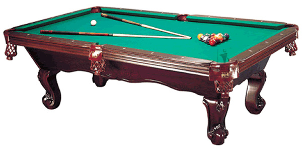 High quality hand carved wood Pool table, Billiard snooker table