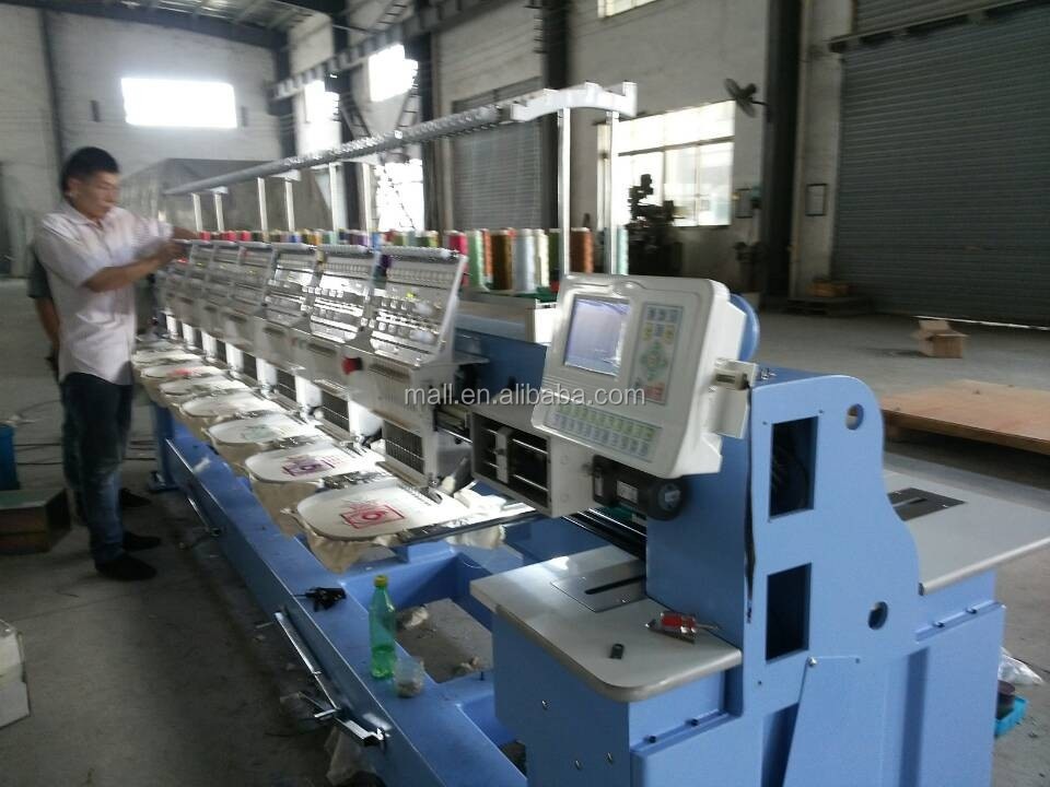 programmable embroidery machine