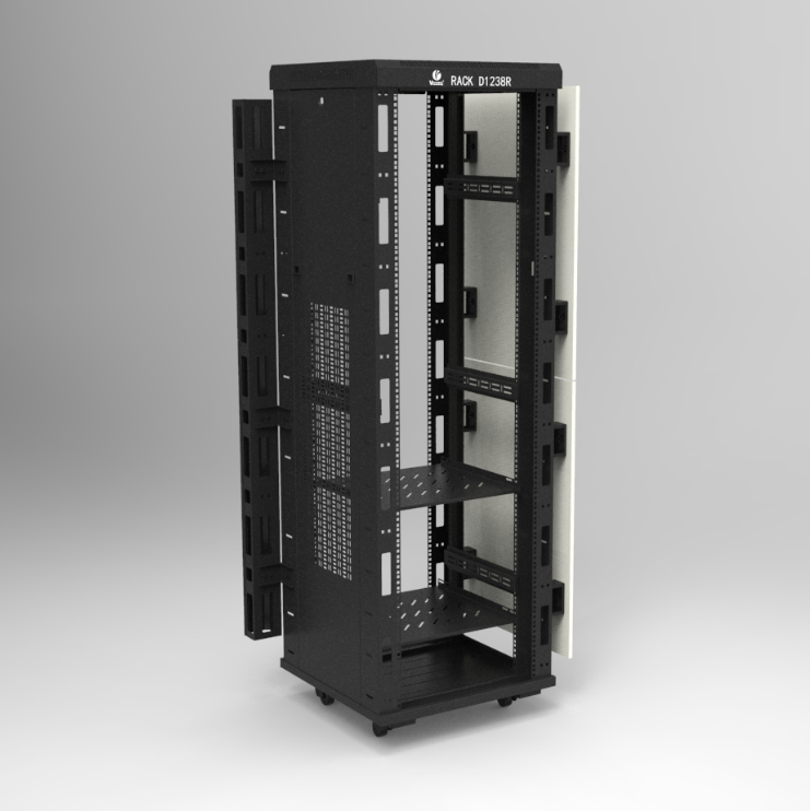 Manufacturer 18U 22U 27U 32U 37U 42U Data Center Server Network Rack 19 inch Network Cabinet