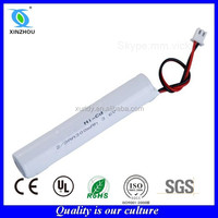Nicd 2/3AA 300mah 3.6v rechargeable battery pack