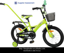 bmx racing bikes with push bar behind for different children