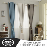 Most professional supplier wholesale curtain fabric and ready made curtain