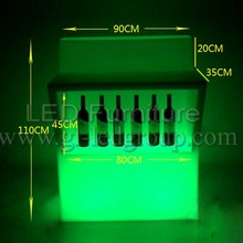RGB Battery Led Furniture illuminated led bar counter