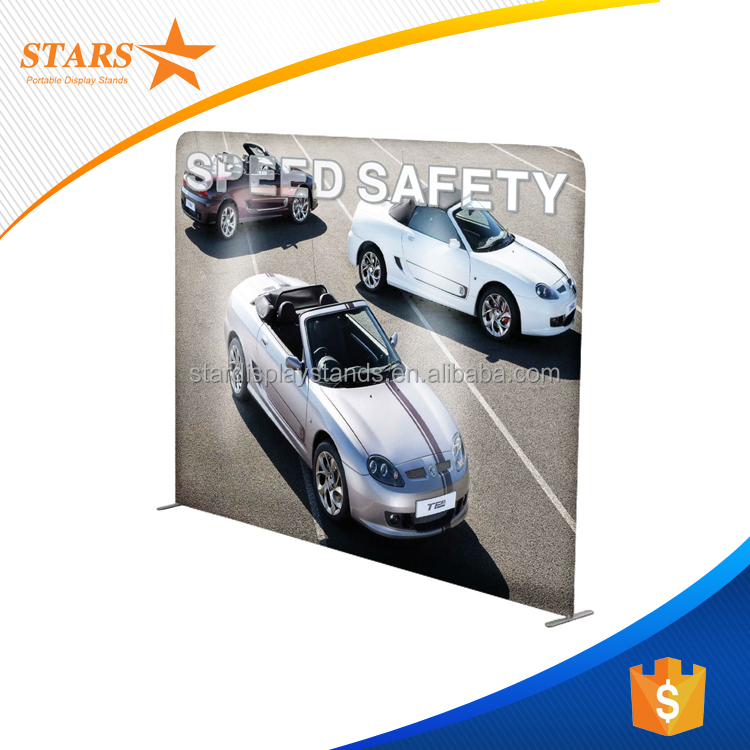 Economical Tension Fabric DisplayTrade Show Stand Buy Fabric - Portable car show display stand