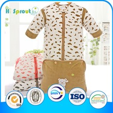 newborn baby cotton clothes, baby sleeping bags, baby sleepwear