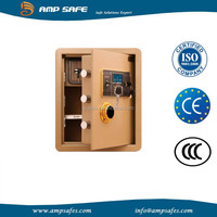 CE security safe box for home use with LCD dispaly and built-in drawer