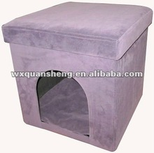 Cute Comfortable Suede Pet House