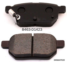 Auto mobile 04466-47020 brake pad for NEW SUNNY brake pad manufacturer