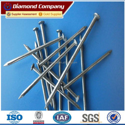 Plastic Head Stainless Steel Nail,plastic cap nail,stainless steel nail/ hot sale nails with high quality and our own factory