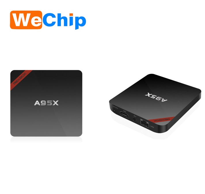 NEXBOX A95X Amlogic S905 Quad Core 1GB/8GB Android 6.0 TV BOX UHD <strong>1080P</strong>
