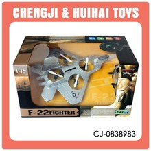 Plastic 2.4G 4 channel outdoor f-22 rc airplane with camera