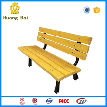 Parks and recreation fitness equipment outdoor Wooden bench