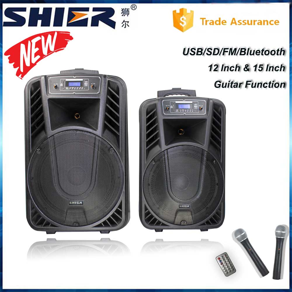 OEM Rechargeable Wireless Super Bass Bluetooth Music Amplifier horn Speakers For Party