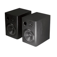 mini professional studio monitor active speaker with versatile input and output options