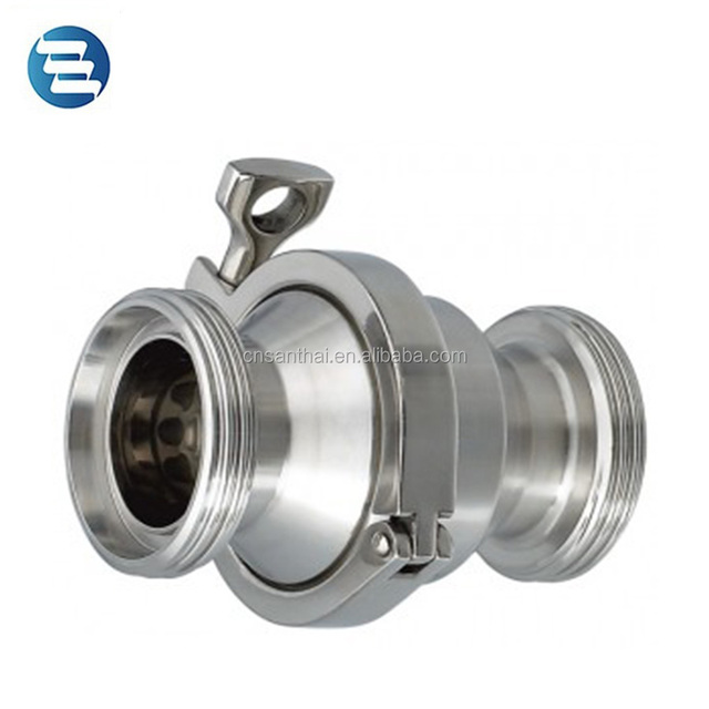 DIN SMS 3A Stainless Steel Sanitary Thread End Check Valve