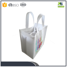 Wholesale Custom Nonwoven 6 Bottle Wine Bag