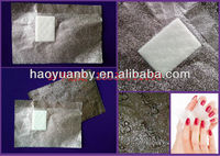 aluminium foil sheets with cotton pad for nail removal gel polish wraps sticker