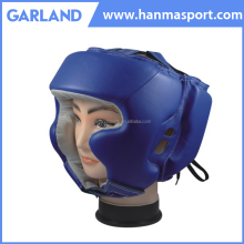 Black and blue sparring practice boxing helmet