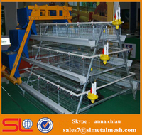 automatic poultry farm equipments / poultry battery cage for nigerian farm