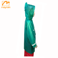 Kids the best quote PVC raincoat
