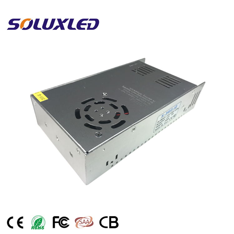 360W Constant Voltage 12V 30A AC to DC Switching Power Supply LED Driver