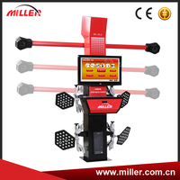 MIller advanced 3d car wheel alignment ML-3D-3 with auto tracking camera