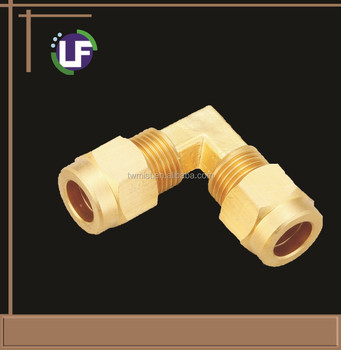 Brass OD Elbow connector