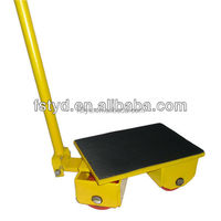 Fixed or Universual direction Rotating Cargo Trolley, moving skate