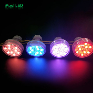 RGB auto led lamp 45mm pixel light for led ferris wheel lighting,bumper cars,carrousel