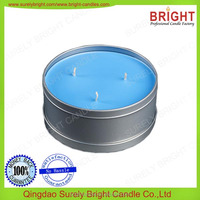 soy candle as lotion