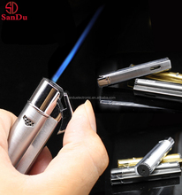 Promotional lowest price manufacture metal spark flint gas lighter refillable