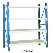 Industrial Warehouse Storage Removable Plate Type Steel Storage Rack