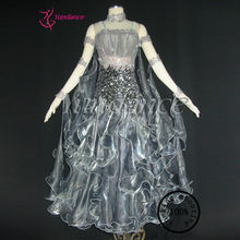 B-1154 Grey Wedding Dress