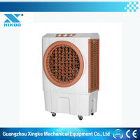 Portable evaporative ducting cooler air cooler and dehumidifier no freon gas Low cost environmental protection air-coolers