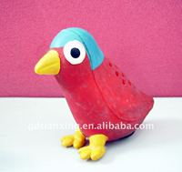 Natural rubber bird toy/rubber pet toy/pet toy