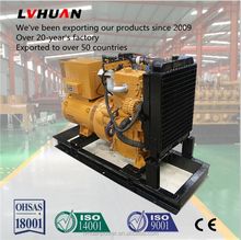 Wood gasification syngaswood chip power generator