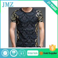 Gloden Printing Cool Fashion Men T