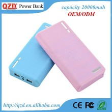 Unique item power bank for canon high capacity 20000mah