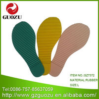 Rubber Outsole Material and Cotton Fabric Upper materials in making slippers