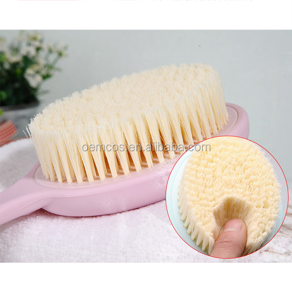 Long Handle Body Bath Shower Back Brush Massager Spa Scrubber
