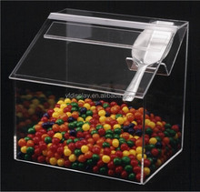 Plastic acrylic Candy box for storage Sweet