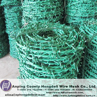Good price!plastic barbed wire razor barbed wire mesh fence used barbed wire machine for sale
