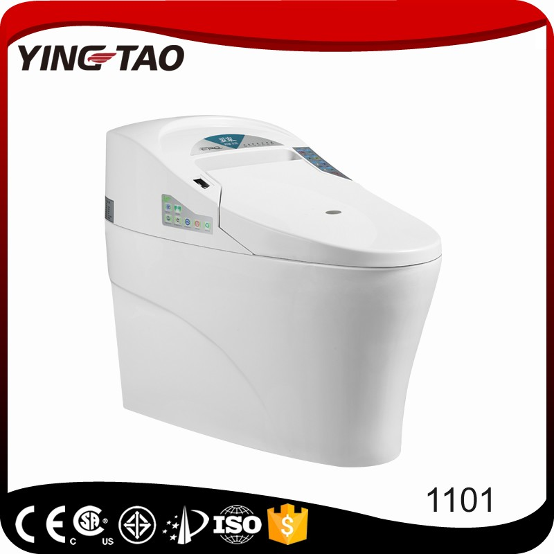 Energy saving and water saving smart toielt bathroom ceramic electric incinerator toilet