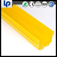plastic fiber optic cable tray cable runner with SGS RoHS high quality