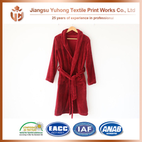 Promotional Full Size Twin Queen King Size Terry Cloth Robe With Zipper For Sale With 5% Cost Discount